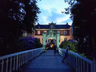 Namengebende Schloss mitten im Ferienzentrum