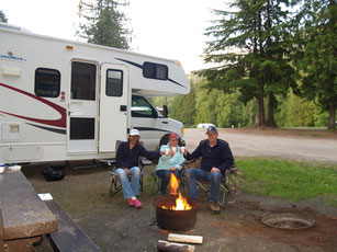Campground Williams Lake in Revelstoke