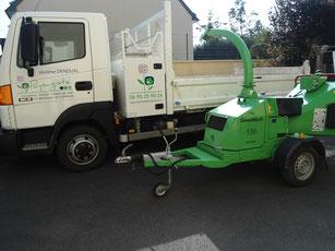 Broyeur permettant de valoriser les déchets de taille