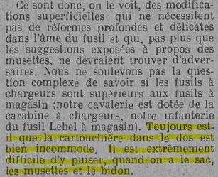 Extrait du journal La Fronde du 7 décembre 1926