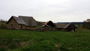 Geschichtspark Bärnau, hochmittelalterliches Dorf