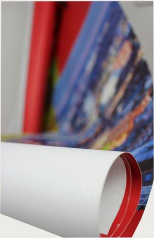 PVC Plane und PVC Banner für Upcycling und Recycling Taschen und nachhaltigen Etuis