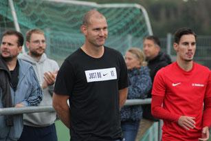 Trainer Steffen Borbonus will direkt ein Zeichen setzen und gewinnen
