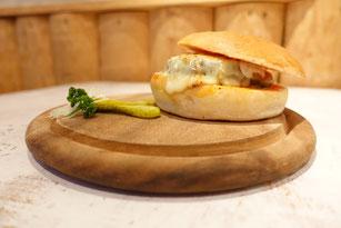 Beispiel: Hamburger mit Raclettekäse