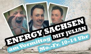Mit einem Klick direkt zu Julian's Seite von Energy Sachsen