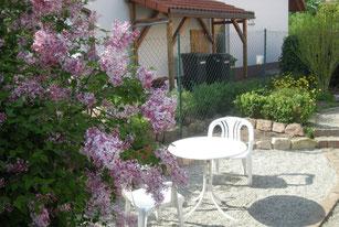 Garten Ferienvermietung Becker