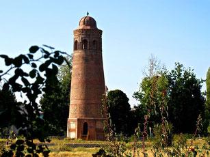 Minarett in Osgon aus 11. Jhd.