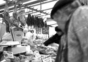 jedes Stadt-Viertel hatte seinen eigenen Markt