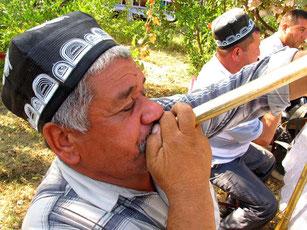 Musikkapelle spielte das ganze Dorf zusammen