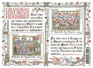 LES GRANDES HEURES DE L'HISTOIRE DE FRANCE. Temple de Paris