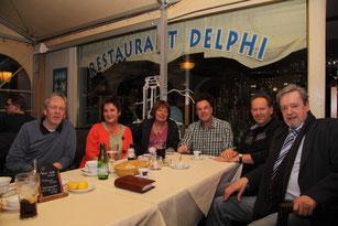 Marcel Schaar, Helgrid Neumann, Sylvia Karasch, Thomas Grambow, Björn Kempcke (Little Country Gentlemen), Willi Neumann (von links)
