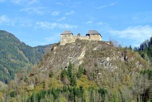 Burg Dürnstein an der B317