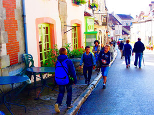 heute ist Vezelay ein beliebtes Touristenziel