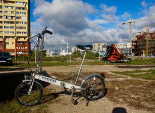 mit dem Bike in die City (Zentrum)
