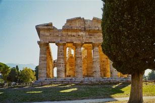 makellos die Proportionen des Poseidon-Tempels