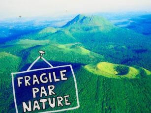 das Naturschutzgebiet der 40 Vulkane