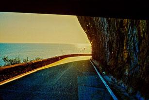 die Küstenstrasse nach Amalfi
