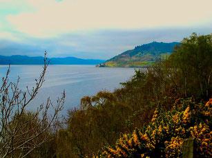 der sagenumwobene Loch Ness Lake
