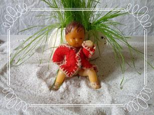 mit Filzfetzen bekleidete Puppe, Idee und Ausführung Klein-Beate, Beate Gernhardt, Foto Henriks Porciks