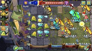 ゲーム「植物とゾンビ」の2(Plants vs. Zombies 2)