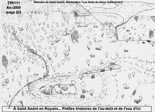 """Il y a 5000ans un lac existe derrière """"La Roche"""", des cavernes habritent les premiers habitants"""