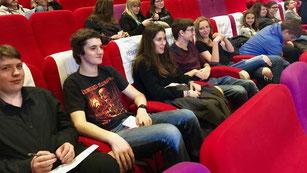 Jury 2017 en projection d'un film