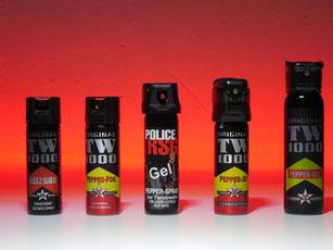 TW1000 Pepper-Foam und RSG-Police Pfeffer-Schaum 63ml + 400ml Hamburg