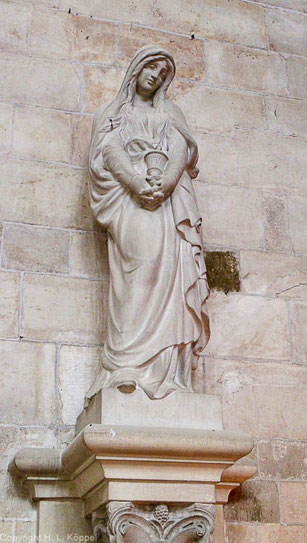 Bild: Die Schutzheilige Maria Magdalena