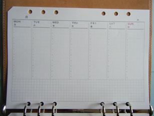 横置きバーチカル式のリフィルの写真