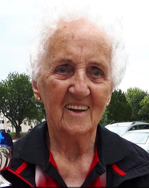 Margit Schieder bei den österreichischen Meisterschaften der Senioren 2018 in Kremsmünster.