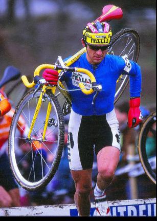 Neuer Coach für Eva Lechner: Luca Bramati, hier auf dem Weg zu WM-Bronze 1996 in Montreuil bei Paris (Foto: H.A.Roth/roth-foto.de)