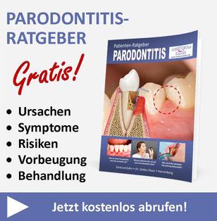 Kostenloser Parodontitis-Ratgeber von Zahnarzt Dr. Stefan Klaas in Herrenberg