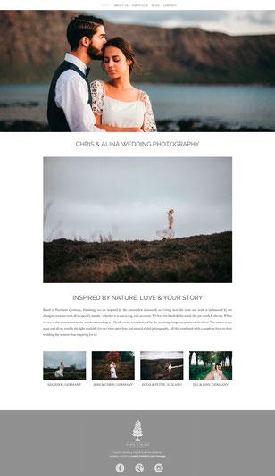 Homepage chrisandalina.com