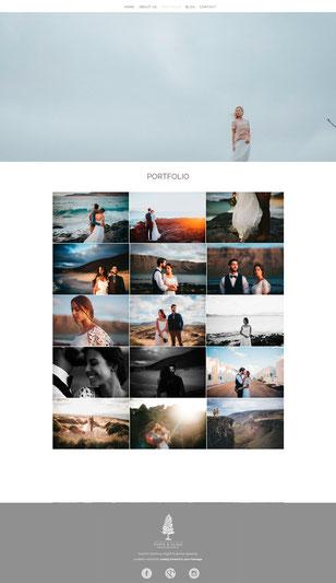 Portfolio chrisandalina.com