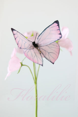Wafer Paper Butterfly and Campanulas   Floralilie Sugar Art