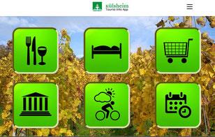 Tourist App Külsheim (ideal für Mobiltelefone)