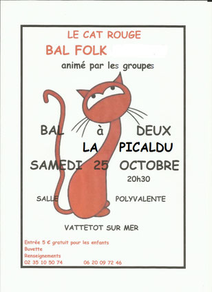 25 octobre 2014 Bal Folk Vattetot sur Mer