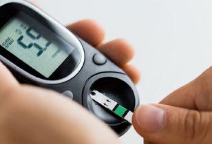 Blutzucker Messung im bei Diabetes im Diabeteszentrum Buchholz