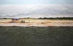 Myanmar1, 2013, Öl auf Leinwand, 190 x 300 cm