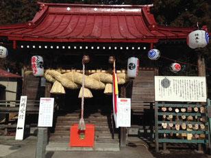 森友の瀧尾神社 : 栃木県日光市森友995