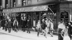 Le café du Croissant, Paris