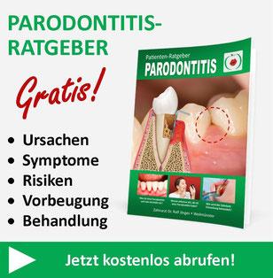 Kostenloser Parodontitis-Ratgeber von Zahnarzt Dr. Ralf Jörges in Weilmünster