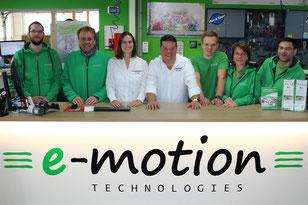 Neue Jobs bei Ihrer e-motion e-Bike Welt Lübeck