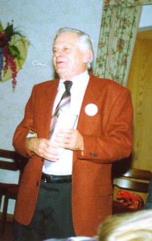 Gerhard Bornemann 1. Vors. SZG  1967 - 1991 danach Ehrenvorsitzender