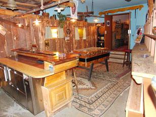 Schiastall Pub. Unser einladendes Raucherstübli