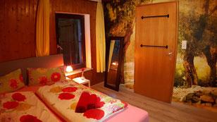 """Ferienzimmer in der Unterkunft """"Das Haus am Hang"""" in Schwäbisch Hall"""