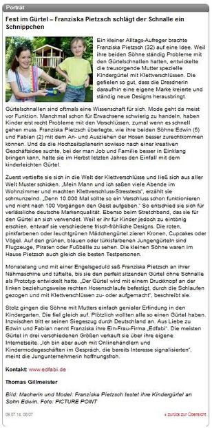 Kindergürtel Leipziger Rundschau