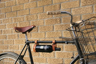 Bycicle Rack Wine by Jesse Herbert