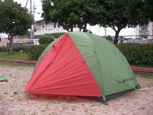 自転車の 自転車旅 テント 重量 : スイカみたい