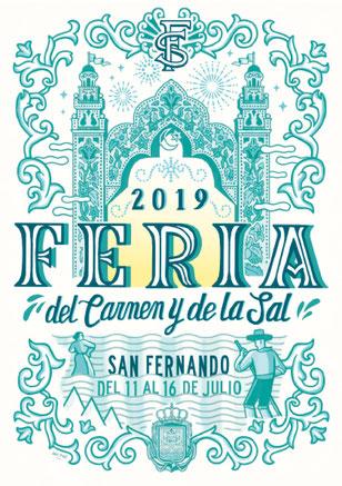 Feria del Carmen y de la Sal en San Fernando